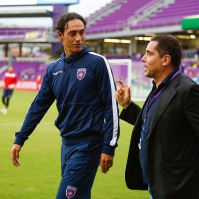 Alessandro Nesta and Riccardo Silva at Orlando City SC