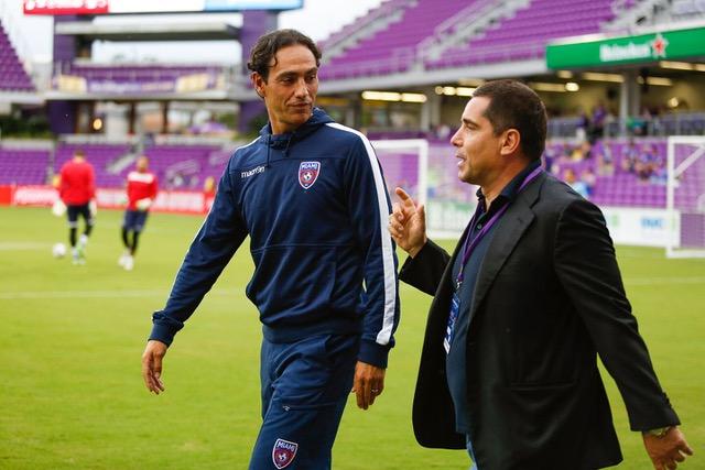 Alessandro Nesta and Riccardo Silva at Orlando City SC
