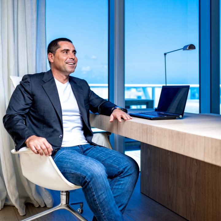 Riccardo Silva in the Miami Office