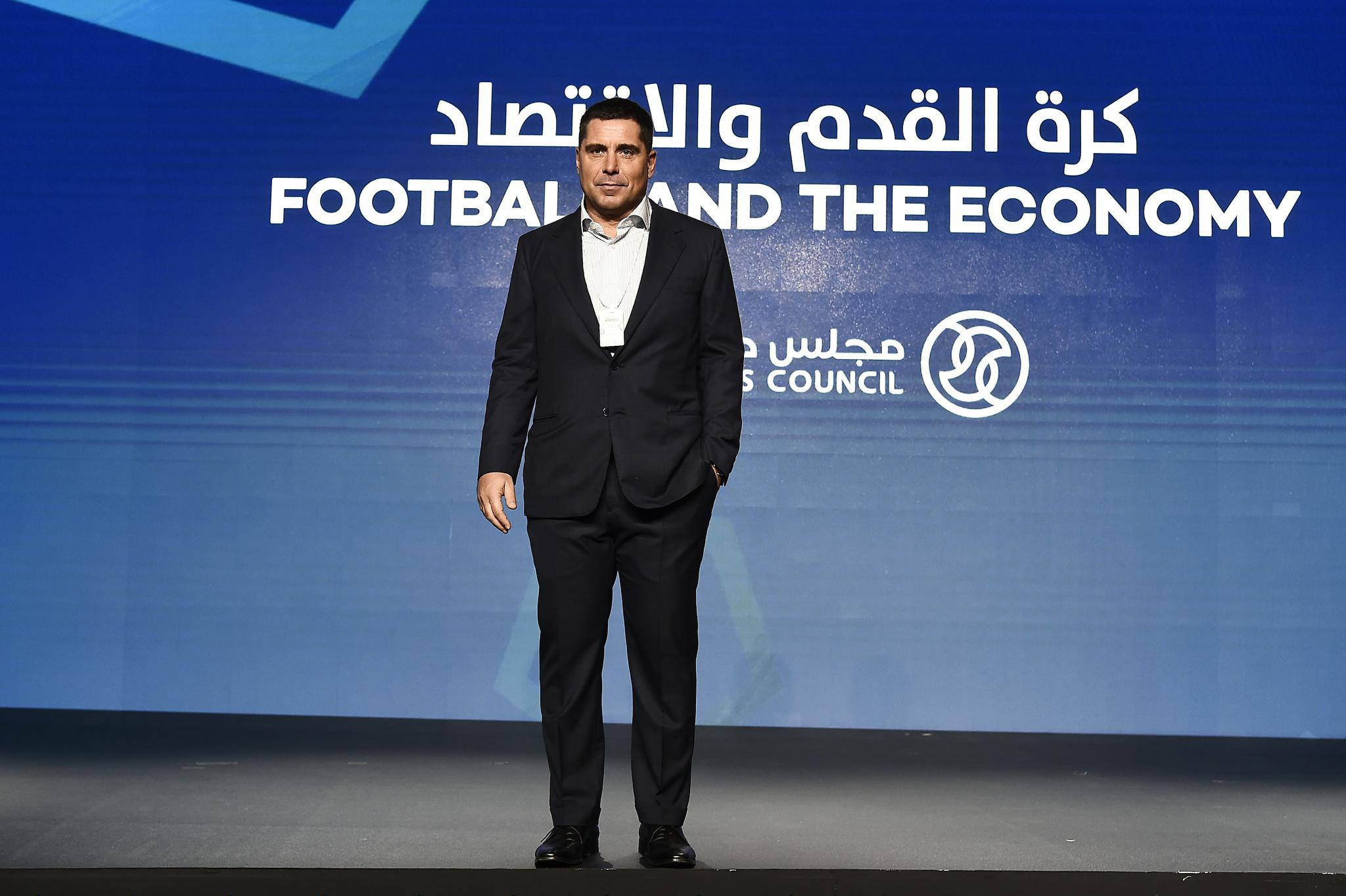 Riccardo Silva at the Globe Soccer Awards 2019 in Dubai
