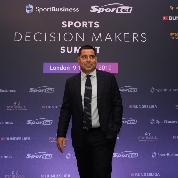 Riccardo Silva at the Sports Decision Makers Summit – London 2019