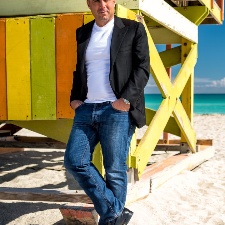 Riccardo Silva at Miami Beach