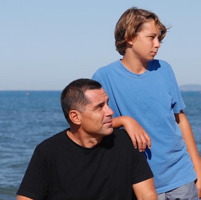Riccardo and Giorgio Silva, August 2020