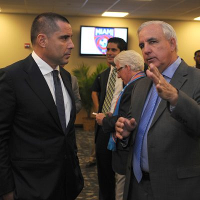 Riccardo Silva, Mayor Of Miami Carlos Gimenez