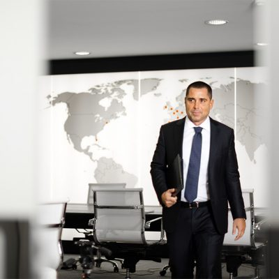 Riccardo Silva in London Office
