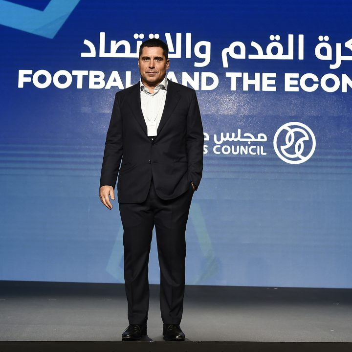 Riccardo Silva at the Globe Soccer Awards 2019 in Dubai